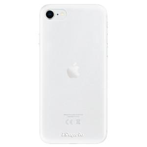 Odolné silikonové pouzdro iSaprio - 4Pure - čiré bez potisku na mobil Apple iPhone SE 2020