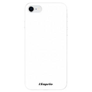 Odolné silikonové pouzdro iSaprio - 4Pure - bílé na mobil Apple iPhone SE 2020