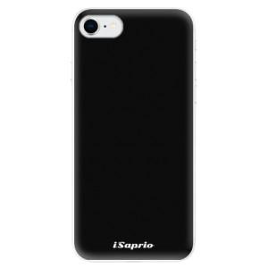 Odolné silikonové pouzdro iSaprio - 4Pure - černé na mobil Apple iPhone SE 2020