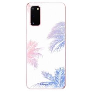 Odolné silikonové pouzdro iSaprio - Digital Palms 10 na mobil Samsung Galaxy S20