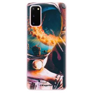 Odolné silikonové pouzdro iSaprio - Astronaut 01 na mobil Samsung Galaxy S20