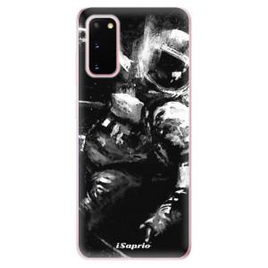 Odolné silikonové pouzdro iSaprio - Astronaut 02 na mobil Samsung Galaxy S20