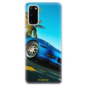 Odolné silikonové pouzdro iSaprio - Car 10 na mobil Samsung Galaxy S20