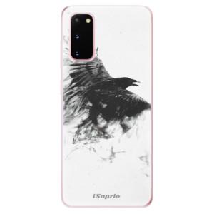 Odolné silikonové pouzdro iSaprio - Dark Bird 01 na mobil Samsung Galaxy S20