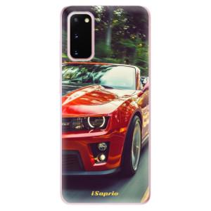 Odolné silikonové pouzdro iSaprio - Chevrolet 02 na mobil Samsung Galaxy S20