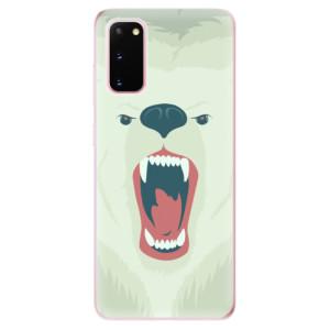 Odolné silikonové pouzdro iSaprio - Angry Bear na mobil Samsung Galaxy S20