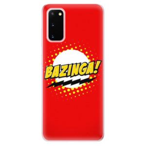 Odolné silikonové pouzdro iSaprio - Bazinga 01 na mobil Samsung Galaxy S20