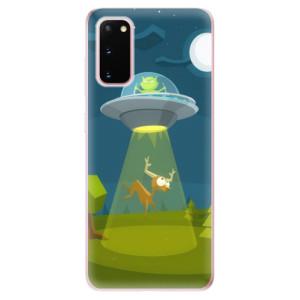 Odolné silikonové pouzdro iSaprio - Alien 01 na mobil Samsung Galaxy S20