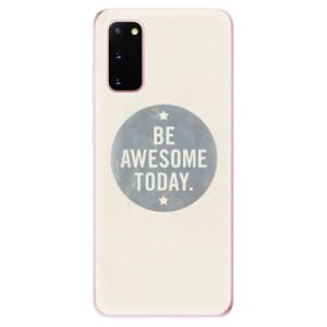 Odolné silikonové pouzdro iSaprio - Awesome 02 na mobil Samsung Galaxy S20
