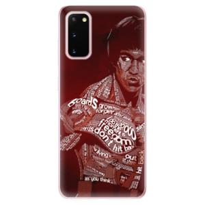 Odolné silikonové pouzdro iSaprio - Bruce Lee na mobil Samsung Galaxy S20