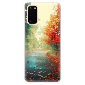Odolné silikonové pouzdro iSaprio - Autumn 03 na mobil Samsung Galaxy S20