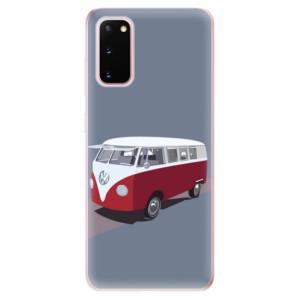 Odolné silikonové pouzdro iSaprio - VW Bus na mobil Samsung Galaxy S20