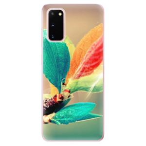 Odolné silikonové pouzdro iSaprio - Autumn 02 na mobil Samsung Galaxy S20