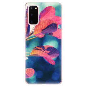 Odolné silikonové pouzdro iSaprio - Autumn 01 na mobil Samsung Galaxy S20