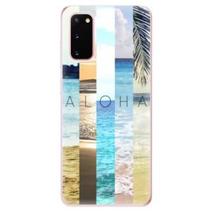 Odolné silikonové pouzdro iSaprio - Aloha 02 na mobil Samsung Galaxy S20