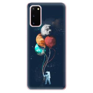 Odolné silikonové pouzdro iSaprio - Balloons 02 na mobil Samsung Galaxy S20