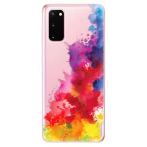 Odolné silikonové pouzdro iSaprio - Color Splash 01 na mobil Samsung Galaxy S20