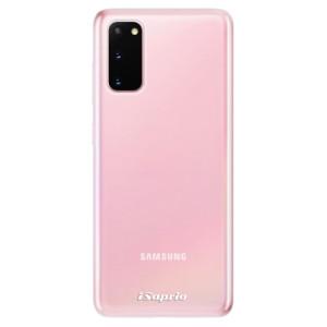 Odolné silikonové pouzdro iSaprio - 4Pure - čiré bez potisku na mobil Samsung Galaxy S20