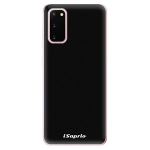 Odolné silikonové pouzdro iSaprio - 4Pure - černé na mobil Samsung Galaxy S20