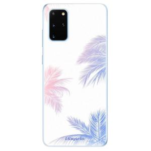 Odolné silikonové pouzdro iSaprio - Digital Palms 10 na mobil Samsung Galaxy S20 Plus