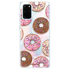 Odolné silikonové pouzdro iSaprio - Donuts 11 na mobil Samsung Galaxy S20 Plus