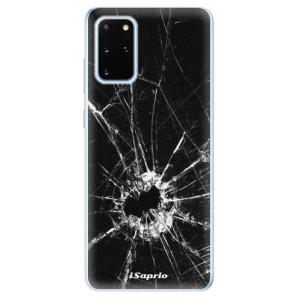 Odolné silikonové pouzdro iSaprio - Broken Glass 10 na mobil Samsung Galaxy S20 Plus
