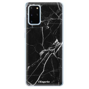 Odolné silikonové pouzdro iSaprio - Black Marble 18 na mobil Samsung Galaxy S20 Plus