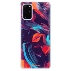 Odolné silikonové pouzdro iSaprio - Color Marble 19 na mobil Samsung Galaxy S20 Plus
