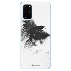 Odolné silikonové pouzdro iSaprio - Dark Bird 01 na mobil Samsung Galaxy S20 Plus
