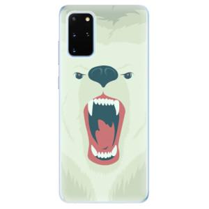 Odolné silikonové pouzdro iSaprio - Angry Bear na mobil Samsung Galaxy S20 Plus