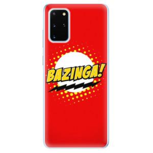 Odolné silikonové pouzdro iSaprio - Bazinga 01 na mobil Samsung Galaxy S20 Plus