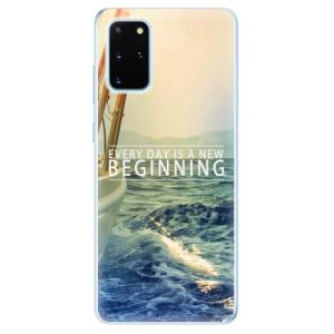 Odolné silikonové pouzdro iSaprio - Beginning na mobil Samsung Galaxy S20 Plus