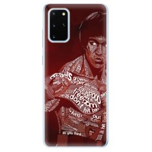Odolné silikonové pouzdro iSaprio - Bruce Lee na mobil Samsung Galaxy S20 Plus
