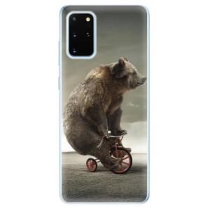 Odolné silikonové pouzdro iSaprio - Bear 01 na mobil Samsung Galaxy S20 Plus