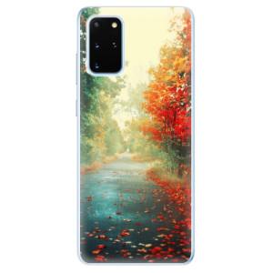 Odolné silikonové pouzdro iSaprio - Autumn 03 na mobil Samsung Galaxy S20 Plus