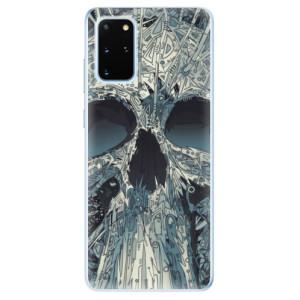 Odolné silikonové pouzdro iSaprio - Abstract Skull na mobil Samsung Galaxy S20 Plus