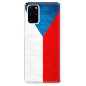 Odolné silikonové pouzdro iSaprio - Czech Flag na mobil Samsung Galaxy S20 Plus