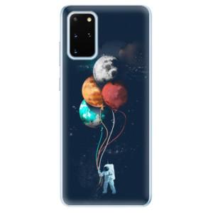 Odolné silikonové pouzdro iSaprio - Balloons 02 na mobil Samsung Galaxy S20 Plus