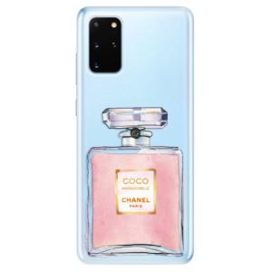 Odolné silikonové pouzdro iSaprio - Chanel Rose na mobil Samsung Galaxy S20 Plus