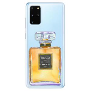 Odolné silikonové pouzdro iSaprio - Chanel Gold na mobil Samsung Galaxy S20 Plus