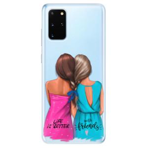 Odolné silikonové pouzdro iSaprio - Best Friends na mobil Samsung Galaxy S20 Plus