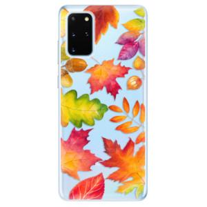 Odolné silikonové pouzdro iSaprio - Autumn Leaves 01 na mobil Samsung Galaxy S20 Plus