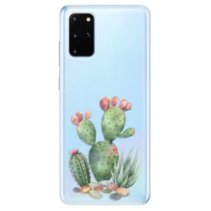 Odolné silikonové pouzdro iSaprio - Cacti 01 na mobil Samsung Galaxy S20 Plus