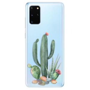 Odolné silikonové pouzdro iSaprio - Cacti 02 na mobil Samsung Galaxy S20 Plus