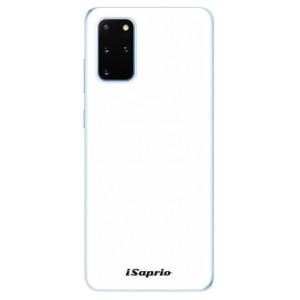 Odolné silikonové pouzdro iSaprio - 4Pure - bílé na mobil Samsung Galaxy S20 Plus