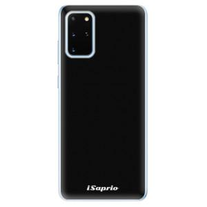 Odolné silikonové pouzdro iSaprio - 4Pure - černé na mobil Samsung Galaxy S20 Plus