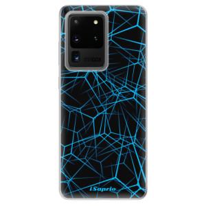 Odolné silikonové pouzdro iSaprio - Abstract Outlines 12 na mobil Samsung Galaxy S20 Ultra