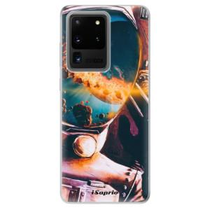 Odolné silikonové pouzdro iSaprio - Astronaut 01 na mobil Samsung Galaxy S20 Ultra