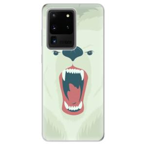 Odolné silikonové pouzdro iSaprio - Angry Bear na mobil Samsung Galaxy S20 Ultra