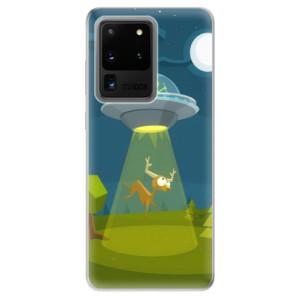 Odolné silikonové pouzdro iSaprio - Alien 01 na mobil Samsung Galaxy S20 Ultra